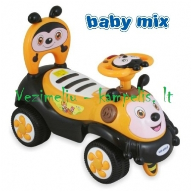 Stumdukas-paspirtukas BabyMix 7625 BITUTĖ 3