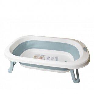 Ванночка складная miniWorld Blue