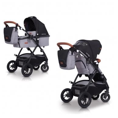 Mamos tašė prie vežimėlio EasyGO Denim 2