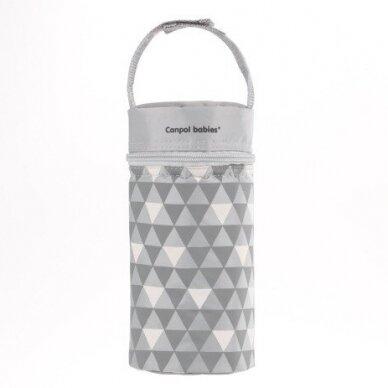 Termopakuotė buteliukui Canpol 69/010 Grey