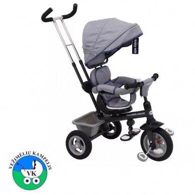 Triratukas BabyMix RIDER MIX 360 Grey