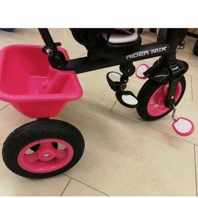 Трехколесный велосипед BabyMix RIDER MIX 360 Grey 5