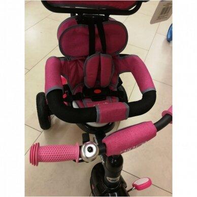 Трехколесный велосипед BabyMix RIDER MIX 360 Grey 6