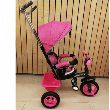 Трехколесный велосипед BabyMix RIDER MIX 360 Grey 8