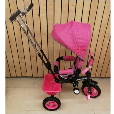 Трехколесный велосипед BabyMix RIDER MIX 360 Grey 9