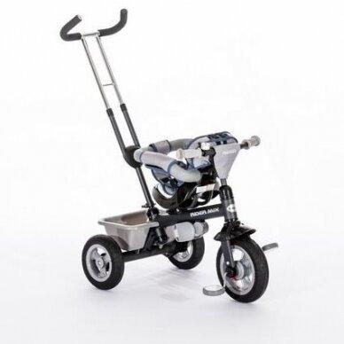 Triratukas BabyMix RIDER MIX 360 Grey 3
