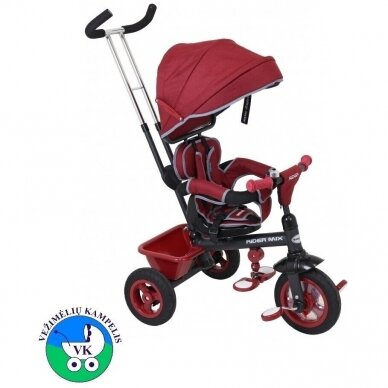 Triratukas BabyMix RIDER MIX 360 Red