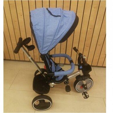 Трехколесный велосипед BabyMix TAXI 360º Blue 5