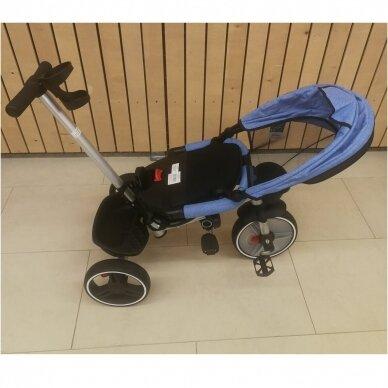 Трехколесный велосипед BabyMix TAXI 360º Blue 7