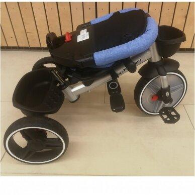 Трехколесный велосипед BabyMix TAXI 360º Blue 8