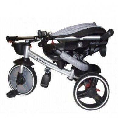 Triratukas BabyMix TAXI 360º Grey 5