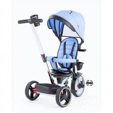 Трехколесный велосипед BabyMix TAXI 360º Blue 2