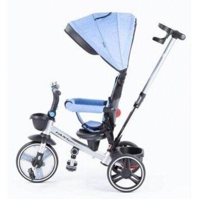 Трехколесный велосипед BabyMix TAXI 360º Blue 3