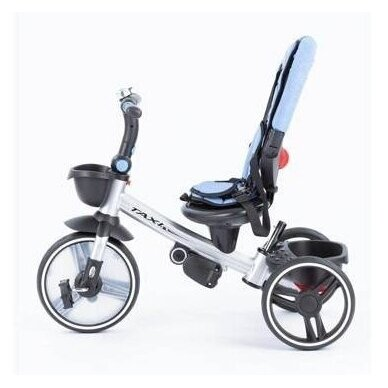 Трехколесный велосипед BabyMix TAXI 360º Blue 4
