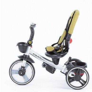 Трехколесный велосипед BabyMix TAXI 360º Green 4