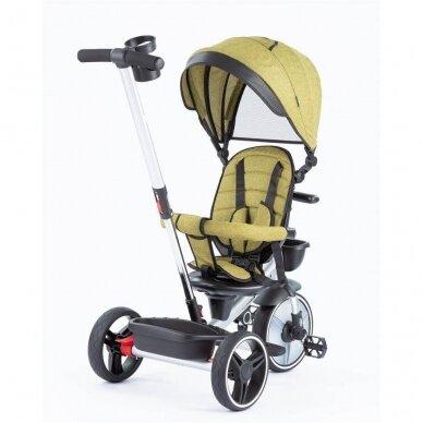 Трехколесный велосипед BabyMix TAXI 360º Green 3