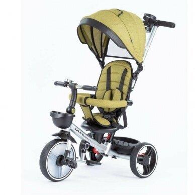 Трехколесный велосипед BabyMix TAXI 360º Green