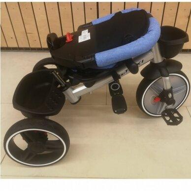 Трехколесный велосипед BabyMix TAXI 360º Green 7