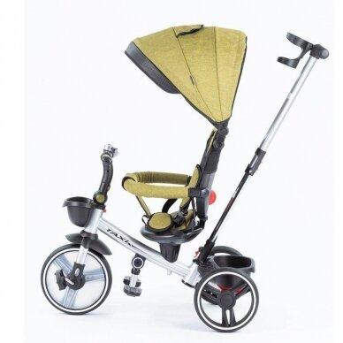 Трехколесный велосипед BabyMix TAXI 360º Green 2