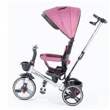 Трехколесный велосипед BabyMix TAXI 360º Pink 3