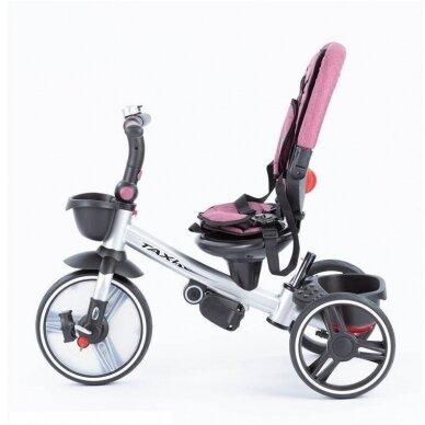 Triratukas BabyMix TAXI 360º Pink 4