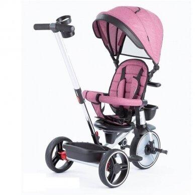 Трехколесный велосипед BabyMix TAXI 360º Pink 2