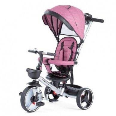 Трехколесный велосипед BabyMix TAXI 360º Pink