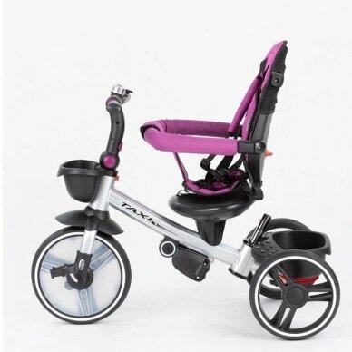 Triratukas BabyMix TAXI 360º Purple 4
