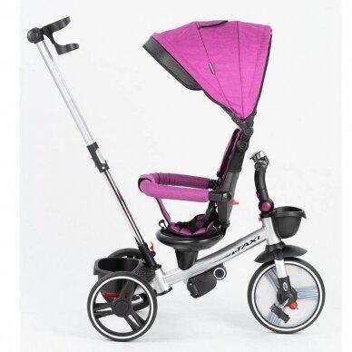 Triratukas BabyMix TAXI 360º Purple 3