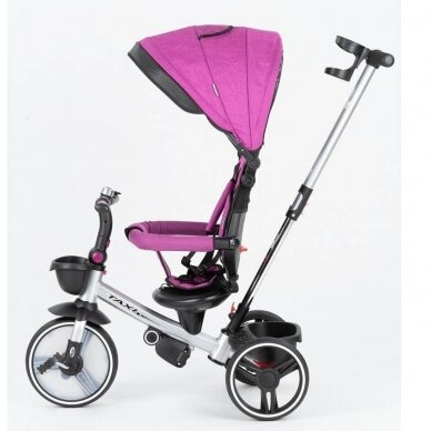 Triratukas BabyMix TAXI Purple 2