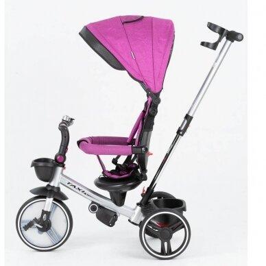 Triratukas BabyMix TAXI 360º Purple 2