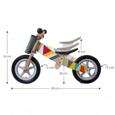 Triratukas-Dviratukas be pedalų SUN BABY 5