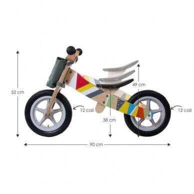 Triratukas-Dviratukas be pedalų SUN BABY TWIST 5