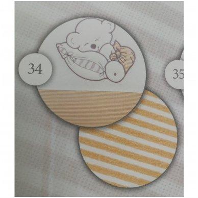 Pataliukai 7 dalių TuttoLina SLEEPING BEAR 5