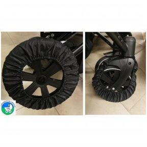 Užvalkalai-apsauga vežimėlio ratams Bambino