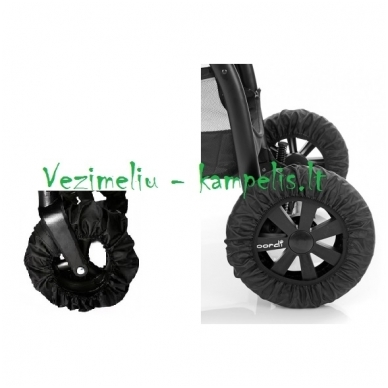 Užvalkalai-apsauga vežimėlio ratams