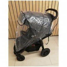 Vežimėlių apsauga nuo lietaus sportinukui