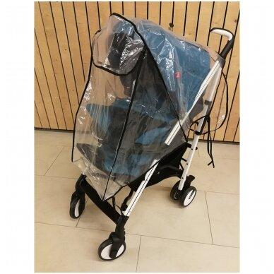 Vežimėlių apsauga nuo lietaus sportinukui 4