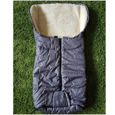 Меховой конверт-спальный мешок