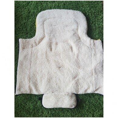 Меховой конверт-спальный мешок 2