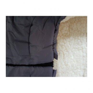 Меховой конверт-спальный мешок 4