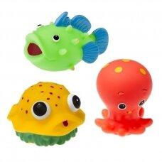Vonios žaislai TULLO-503 Sea Creatures, 3 vnt.