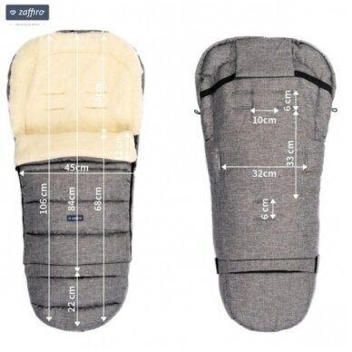 Конверт-спальный мешок Womar Zaffiro S20+ iGROW 2