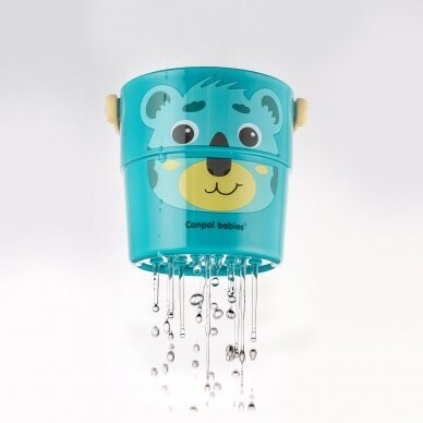 Vonios žaislas Canpol kibirėliai HELLO LITTLE 56/000 8