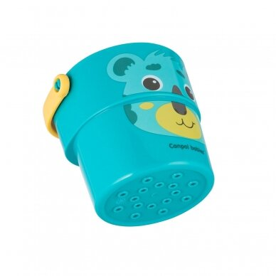 Vonios žaislas Canpol kibirėliai HELLO LITTLE 56/000 9