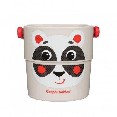 Vonios žaislas Canpol kibirėliai HELLO LITTLE 56/000 4