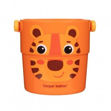 Vonios žaislas Canpol kibirėliai HELLO LITTLE 56/000 6