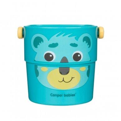Vonios žaislas Canpol kibirėliai HELLO LITTLE 56/000 7