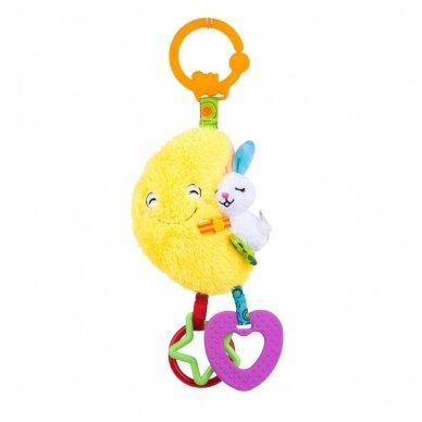 Žaislas-pakabukas Mėnulis su veidrodžiu