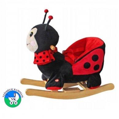 Žaislas-sūpuoklė BabyMix BORUŽĖLĖ su garsu